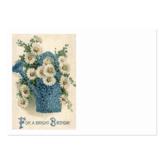 Forget Me Not Daisy Watering Can Pack Of Chubby Business Cards