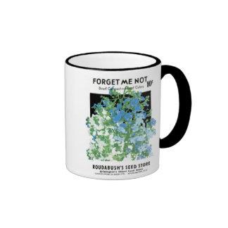 Forget Me Not, Dwarf Compact, Roudabush's Seed Sto Ringer Coffee Mug