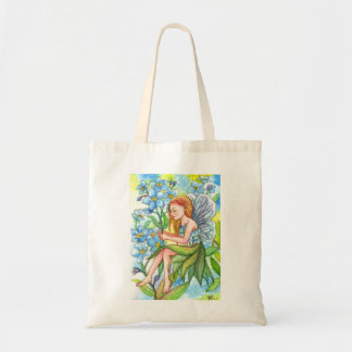 Forget-me-not Fairy Tote Bag