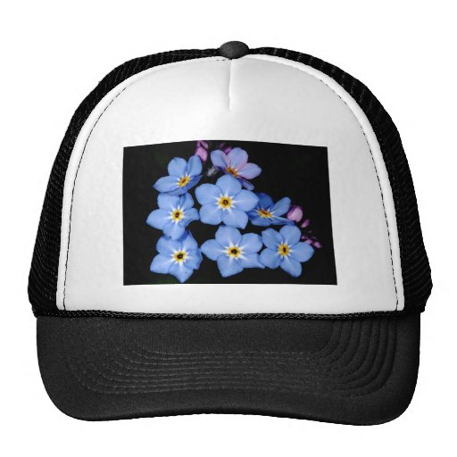 Forget-me-not Mesh Hat