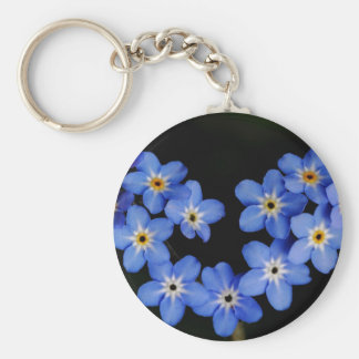Forget me not key ring