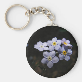 Forget Me Not ~ keychain