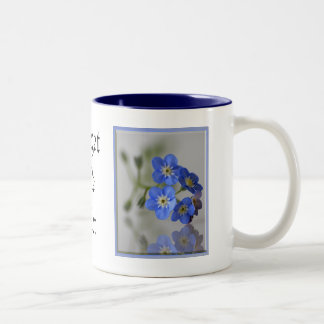 Forget Me Not Coffee Mugs