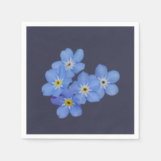 Forget-me-not Paper Napkins