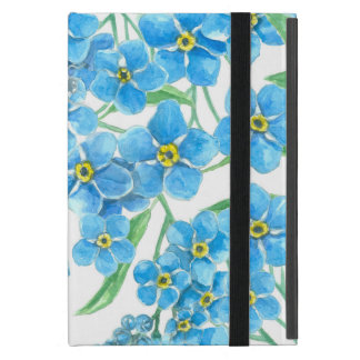 Forget me not seamless floral pattern cover for iPad mini