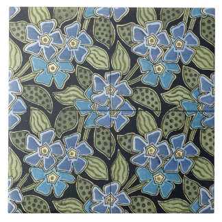 Forget-me-not tile