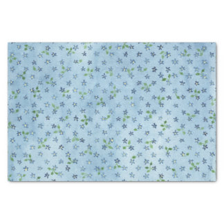 Forget-Me-Not Tissue Paper