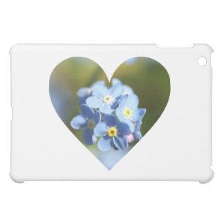 Forget Me Nots Heart iPad Mini Cover