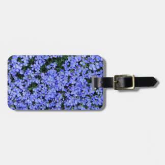 Forget Me Nots Luggage Tag
