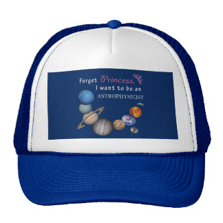 Forget Princess - Astrophysicist Cap