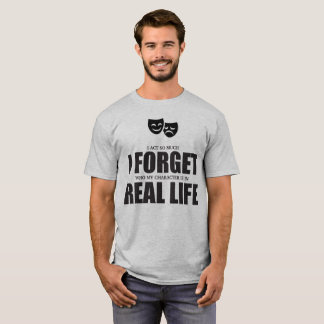 """Forget Real Life"" Tee"