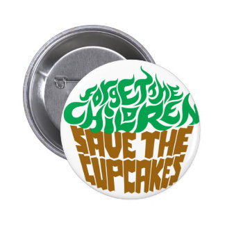 Forget the Children - Green+Chocolate Button
