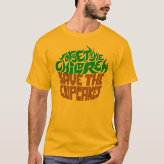 Forget the Children - Green+Chocolate T-Shirt