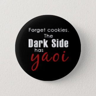 forget the cookies 6 cm round badge