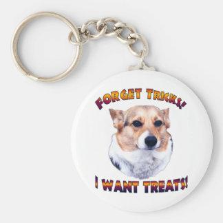 Forget Tricks! I WANT TREATS!-OC Key Chains