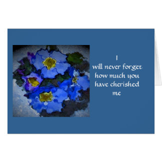 Forgetmenot, Greeting Card