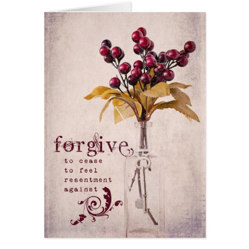 Forgive Cards