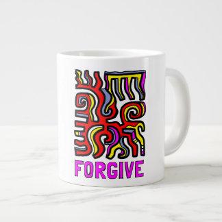 """""""Forgive"""" Jumbo Mug"""