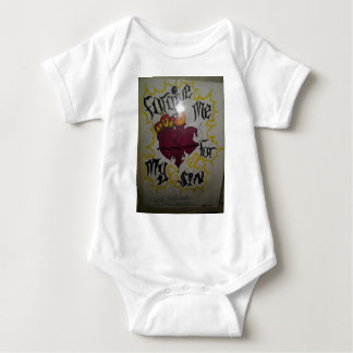 Forgive me for my sins baby bodysuit