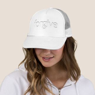 """Forgive"" Trucker Hat"