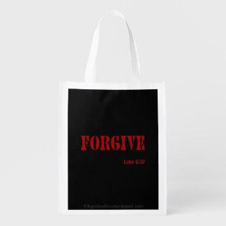 Forgive Reusable Grocery Bags
