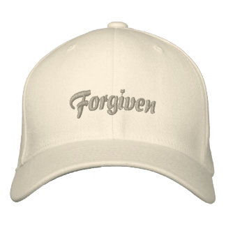 Forgiven By the Grace of God Hat Embroidered Hats