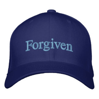 FORGIVEN EMBROIDERED HAT
