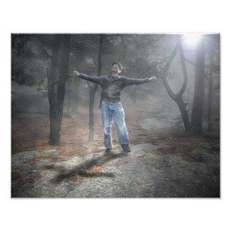Forgiveness at the Cross Photo Print