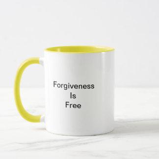 Forgiveness Is Free Mug