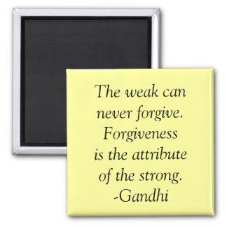 forgiveness quote square magnet