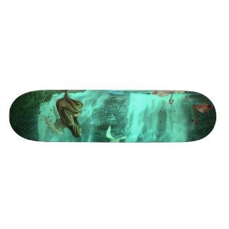 "Forgotten Angel - 73/4"" Board With Awesome Design Custom Skateboard"