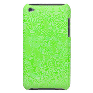 Forgotten Animal Print Green iPod Touch Case-Mate Case