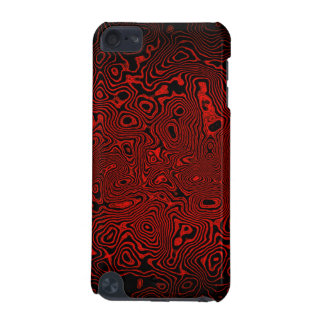 Forgotten Animal Print Red iPod Touch (5th Generation) Covers