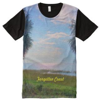 Forgotten Coast Ringer All-Over Print T-Shirt