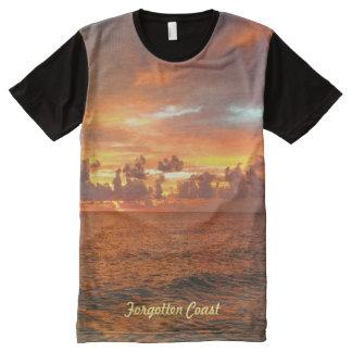 Forgotten Coast Sunset All-Over Print T-Shirt