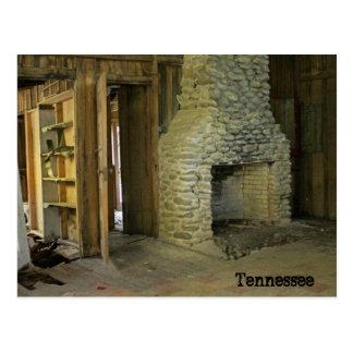 Forgotten Fireplace Postcard