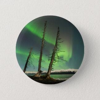 Forgotten Spruce Aurora 6 Cm Round Badge