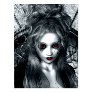 Forgotten Tempest Gothic Postcard