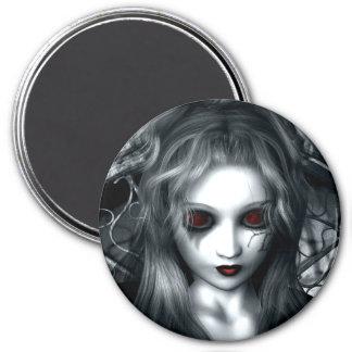 Forgotten Tempest Gothic Vampire 7.5 Cm Round Magnet