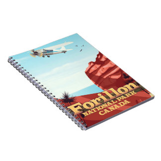 Forillon National Park, Canada travel poster Notebook