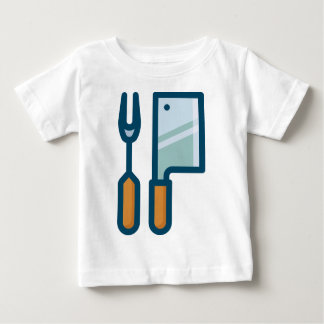 Fork and Cleaver Baby T-Shirt