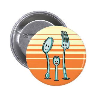 Fork + Spoon= Spork Buttons