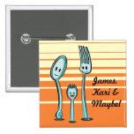Fork + Spoon= Spork Pins