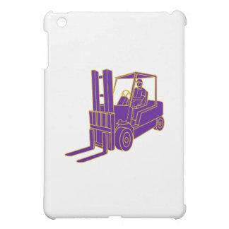 Forklift Truck Mono Line Cover For The iPad Mini