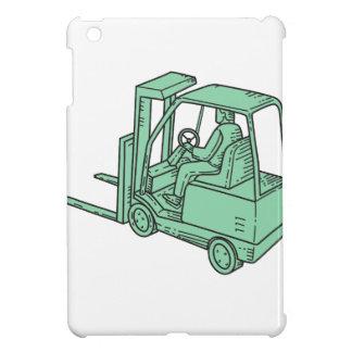 Forklift Truck Operator Mono Line iPad Mini Covers