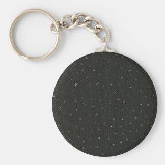 Formal Black Crinkled Material image Keychains