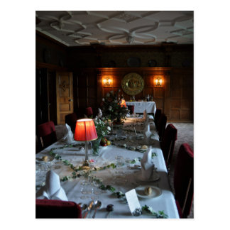 Formal Dining Table Postcard