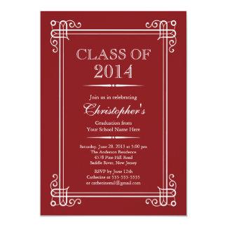 Formal Elegant Class of 2014 Graduation Party Announcement