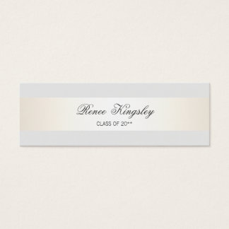 Formal Elegant Graduation Name Card Enclosure