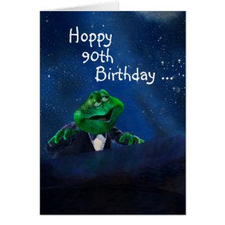 Formal Frog at Piano Card